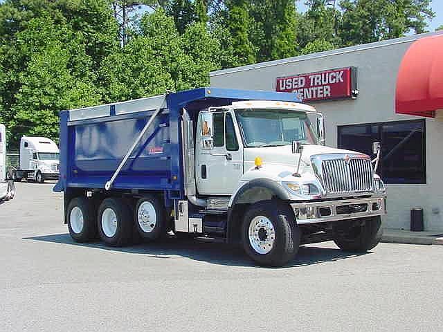 Used 2006 International 7500 Dump Truck